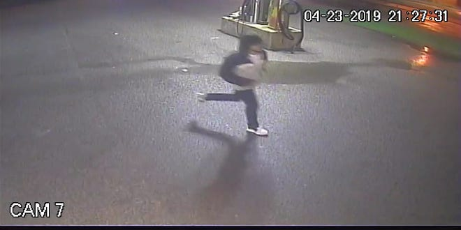 Police are searching for a person of interest in a fatal York City stabbing Tuesday night. Photo courtesy of York City Police.