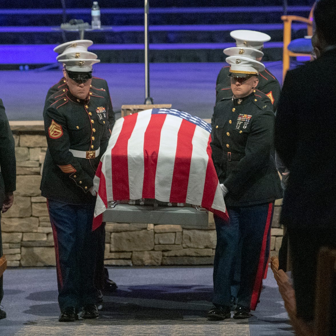 Fallen Marine from York County remembered as 'faithful servant,' 'first person to step up'