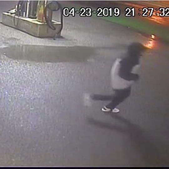 Police are investigating a fatal stabbing that happened on April 23 and released photos of a person of interest.