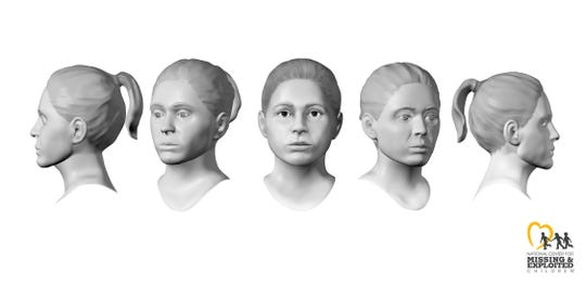 Composites of a young woman found dead in Irondequoit in 1988.