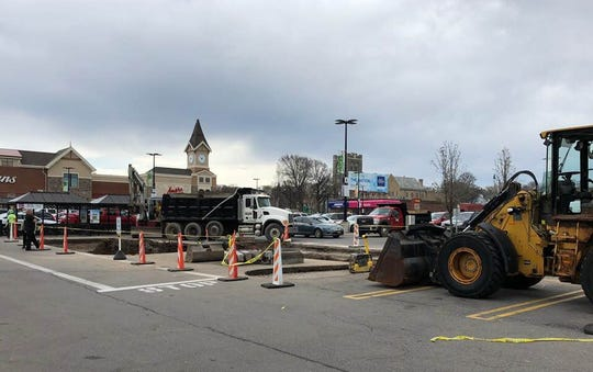 Attention shoppers: Construction of a permanent barricade in the middle of the East Avenue Wegmans parking lot should be finished within the next several days.