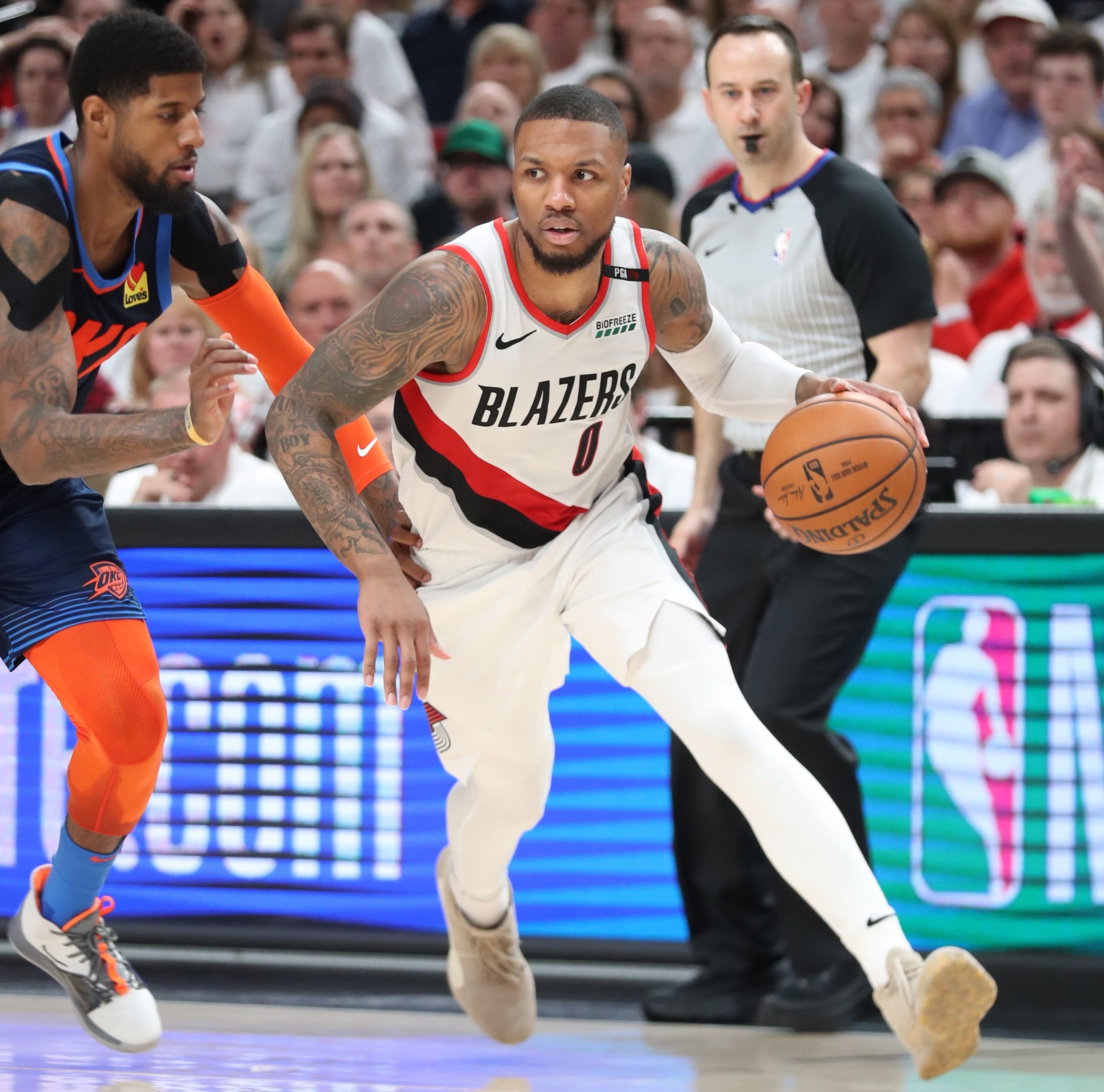 Portland Trail Blazers: Lillard hits walk-off 3-pointer to knock out Thunder