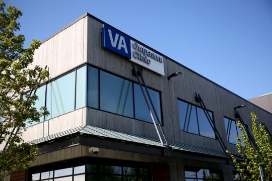 The Salem VA Outpatient Clinic on April 24, 2019.