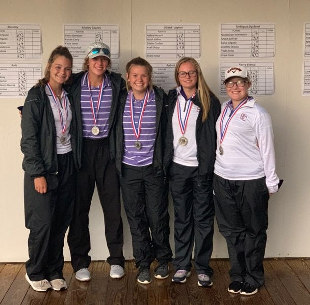 REGIONAL GOLF ROUNDUP: Robert Lee girls win title; Sterling City makes history