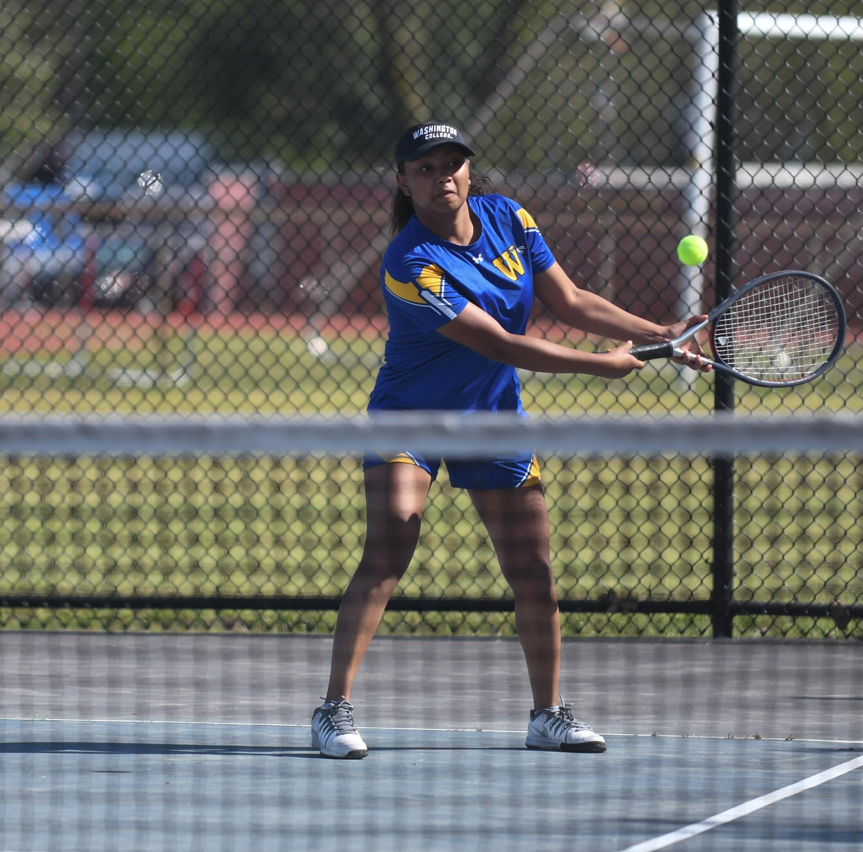 Wi-Hi athlete learns tennis to boost resume, becomes team's top player
