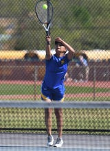 Wanting to make herself stand out, Wi-Hi athlete Th'aliya Goslee became a tennis player and quickly blossomed into the team's top weapon.