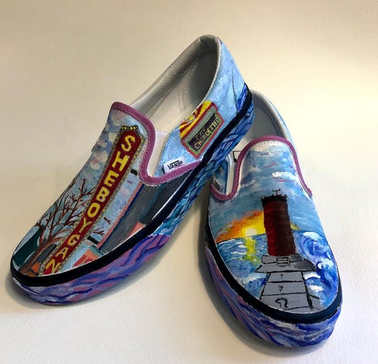 Sheboygan South High School is one of the top 50 schools in the Vans Custom Culture competition. These are the local flavor pair.