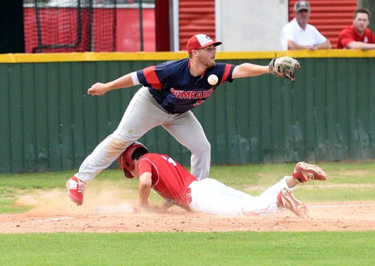 Haughton baseball hosts Comeaux in the first round of the LHSAA Class 5A state baseball playoffs.