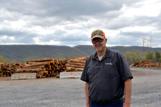 Jim McCoy, mill manager of Speyside Bourbon Stave Mill in Bath County, which makes the staves, or planks of wood, for bourbon barrels. The company has a cooperage (where they assemble the barrels) in Jackson, Ohio.  Speyside's parent company is located in France and is a subsidiary of Speyside Cooperage Ltd. in Scotland. A new cooperage and stave mill is coming to two separate locations in Southwest Virginia. The Bath County stave mill is also expanded and adding jobs.