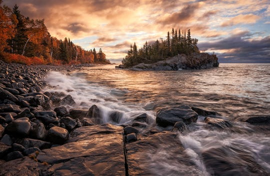 "David Barthel's ""Superior Awakening"" captures a remote harbor near Hovland. It is one of the fine art landscape photographs Barthel, a Sauk Rapids resident, sells at art fairs. It is also included in Barthel's book being released in June."