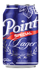 UWSP graduate, Jeffery Kollock, designed the new look for Point Special Lager.