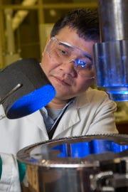 Changchun Zeng, an associate professor   in the FAMU-FSU College of Engineering and researcher at FSU's High-Performance Materials Institute