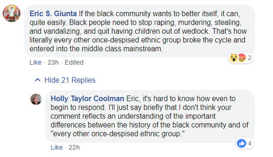 A Florida Department of Corrections attorney posted these comments on a Facebook video.