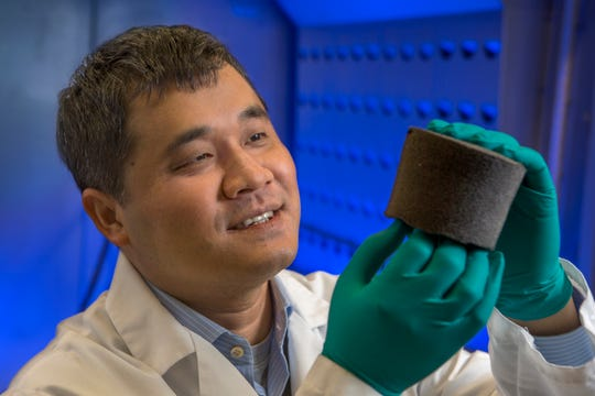 Changchun Zeng, associate professor in the FAMU-FSU College of Engineering, originally developed the auxetic foam for use in biomedical devices.