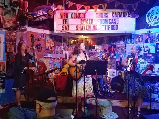Gin & Razor will play Monday at Blue Tavern, 1206 N. Monroe St.