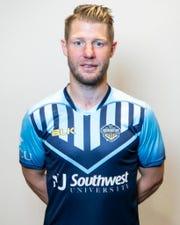 Ritchie Ryan is a midfielder with the El Paso Locomotive