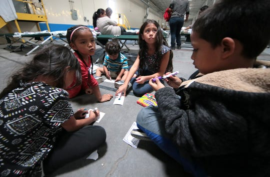 Annunciation House opened its 125,000 square foot migrant center, Casa del Refugiado, in east El Paso in spring 2019. The number of children in Texas shelters increased slightly last month, even as the number of migrants arriving at the border has surged.