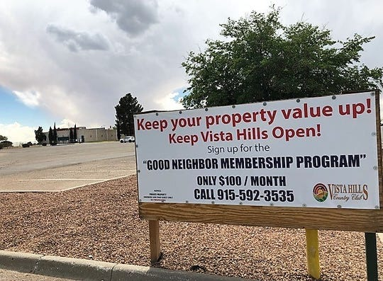 The Vista Hills Country Club board attempted to get surrounding homeowners to help pay to keep the club's 161-acre golf course open. But the program only got 23 positive responses.