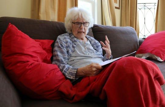 Lois Bohovesky at her Pearl River home April 24, 2019.