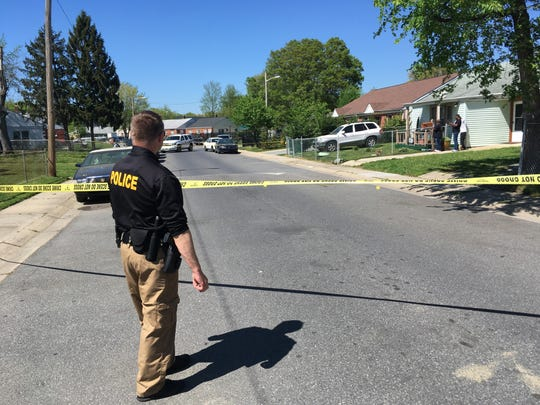 New Castle County Police are investigating a domestic stabbing which took place Wednesday afternoon and left one person with non-life threatening injuries.