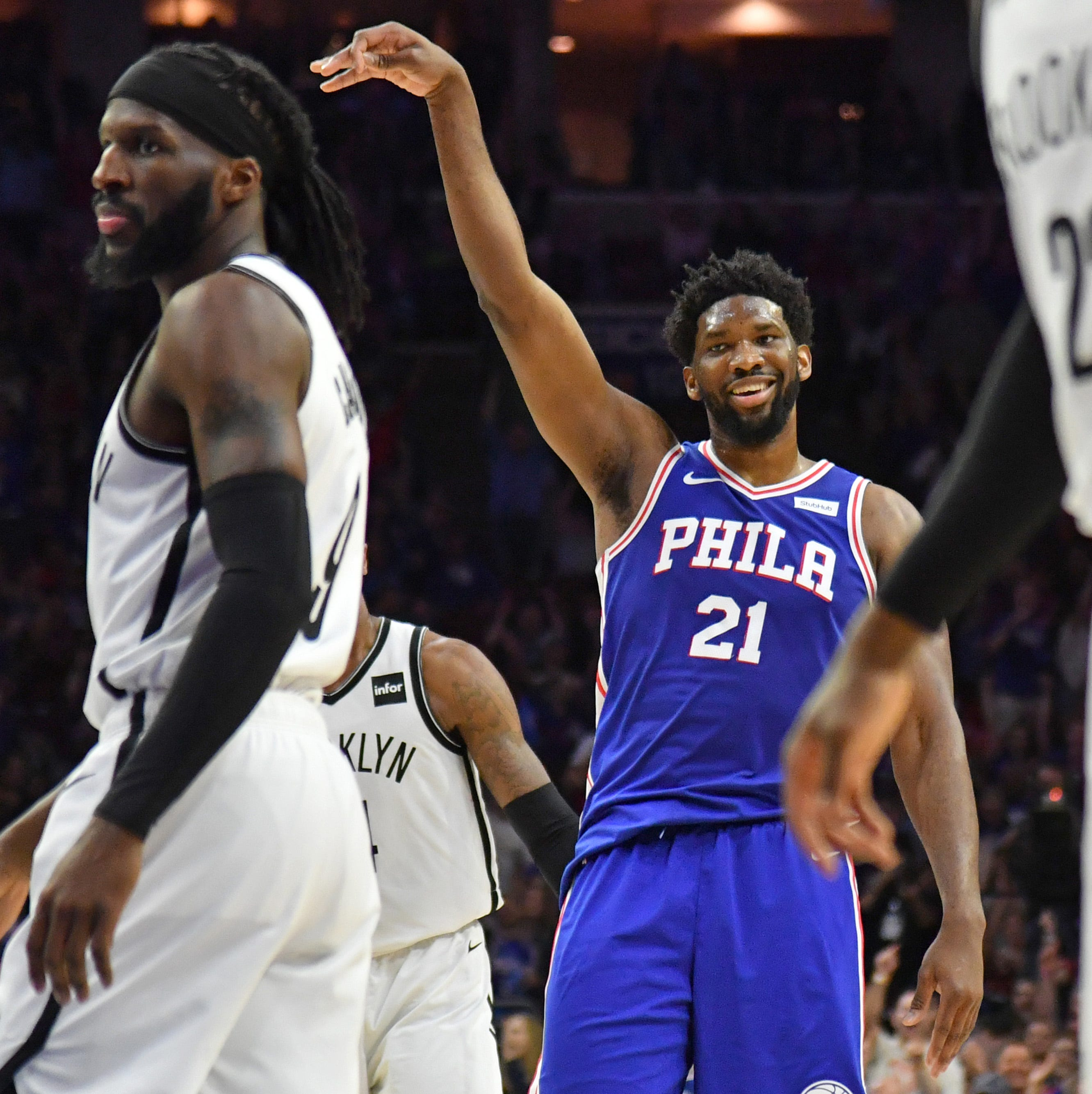 Joel Embiid, Sixers dominate Nets to close out NBA playoff series, advance to face Raptors