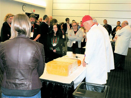 Ask the cheese expert (and get the answers) was an open session.