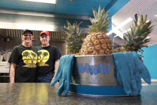 Adam and Deb Kurtz have opened Island Burgers and More in the Colony Square Mall.