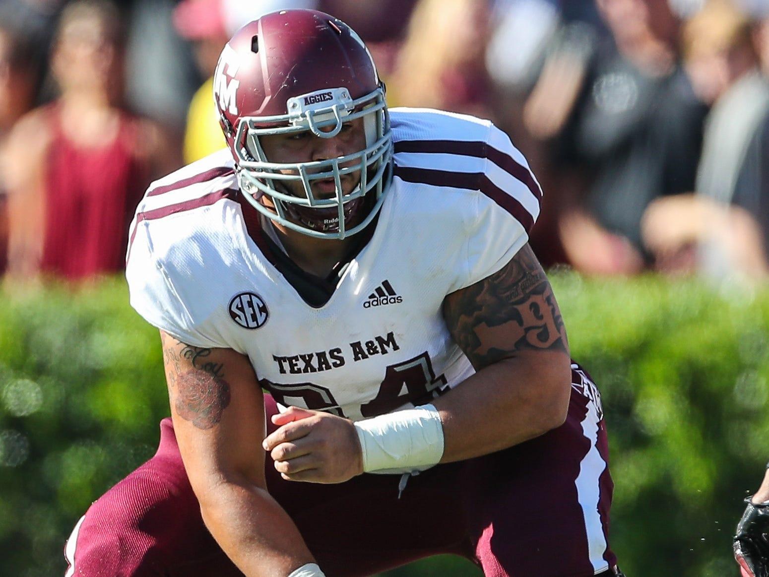 23. Texans — Erik McCoy, C/G, Texas A&M