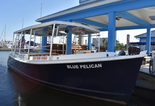 Naples Bay Water Shuttle offers a fun boat ride without breaking the bank.
