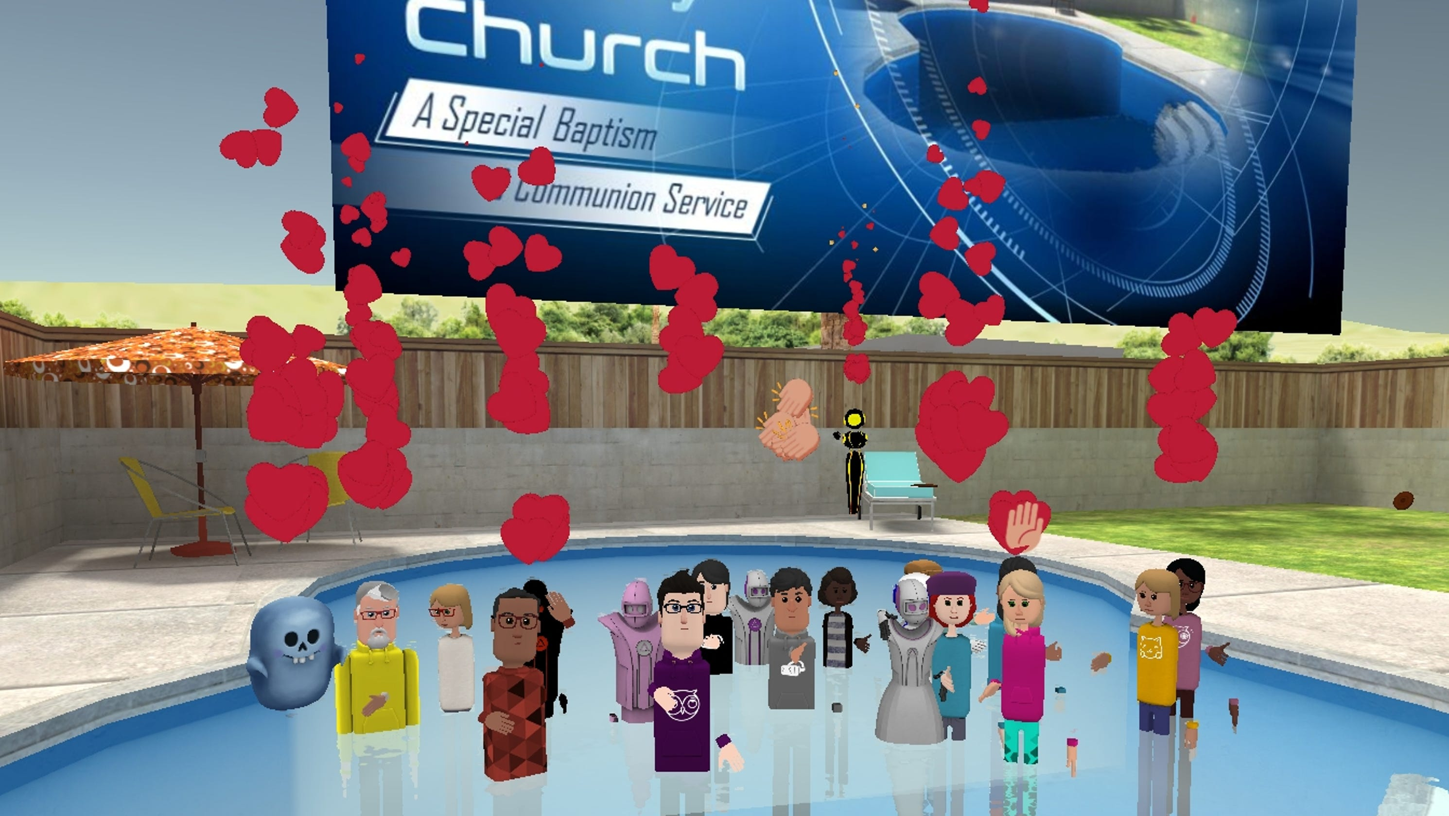 Image result for vr baptism