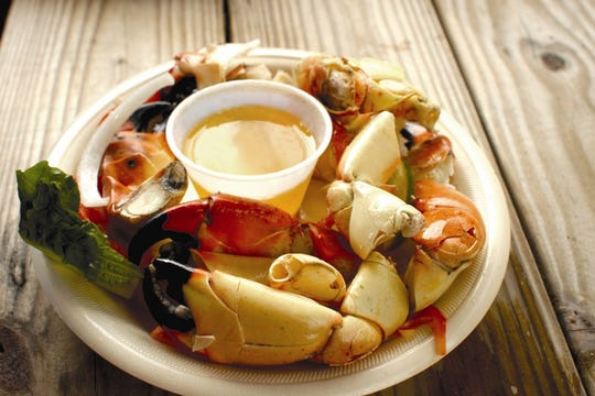 Enjoy the fresh local catch of the day at Pinchers Tin City.