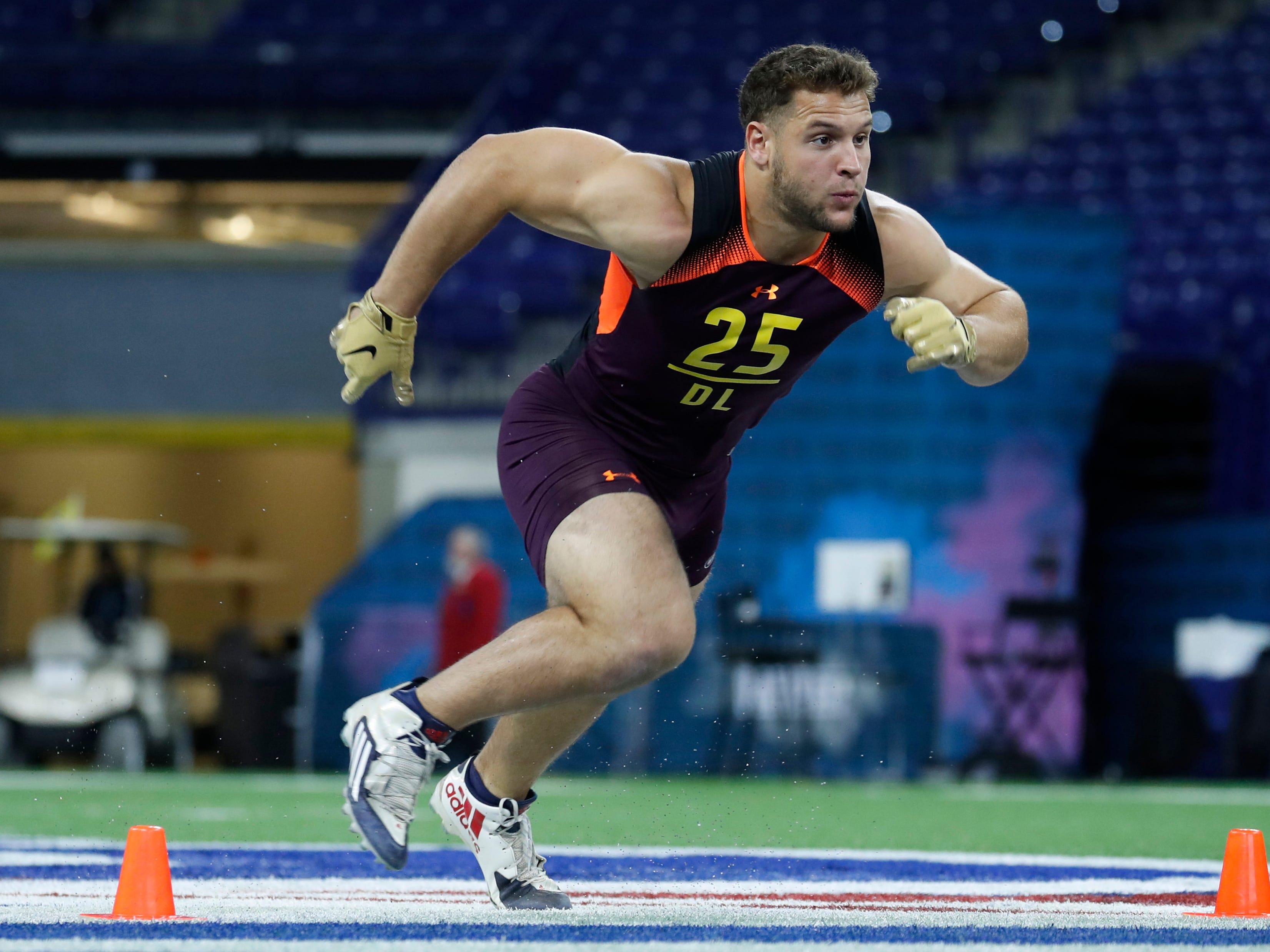 2. 49ers — Nick Bosa, DE, Ohio State