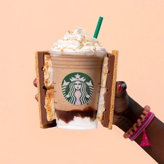 S'mores Frappuccino returns to Starbucks Tuesday for a limited time