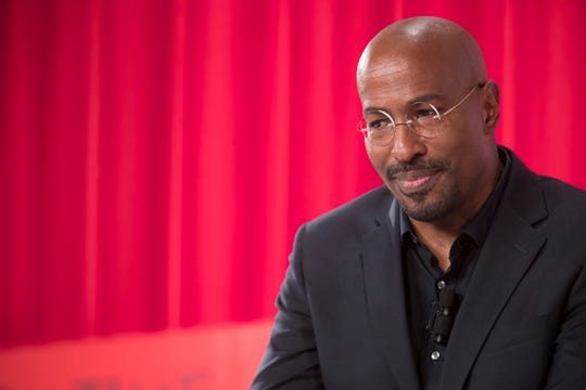 Van Jones Political Commentator, CNN, speaks during the during the TIME 100 Summit, Tuesday, April 23, 2019, in New York.