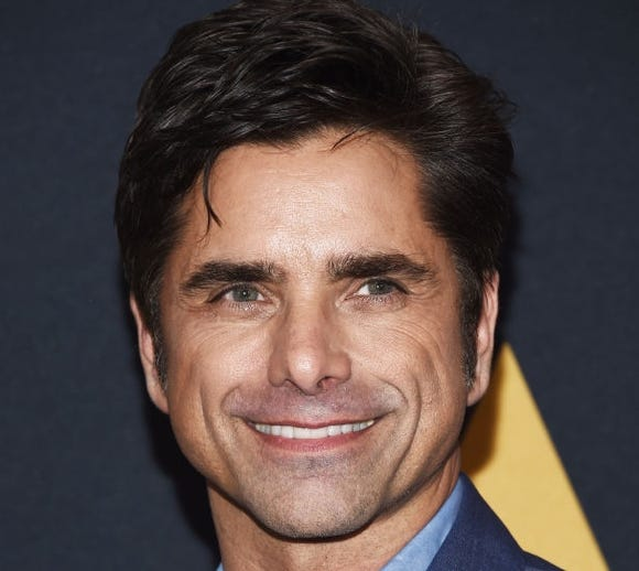 Actor John Stamos said the birth of his son, Billy, was funny and a little frightening.