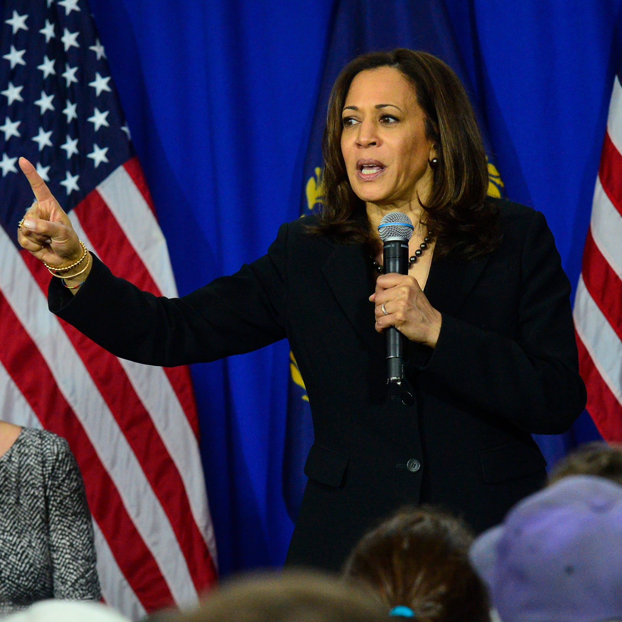 Kamala Harris says she 'absolutely' supports a third gender option on federal IDs