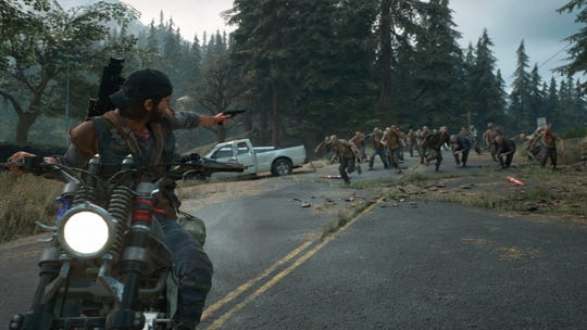 In the open-world action game, 'Days Gone,' players take the role of Deacon St. John, a drifter attempting to survive in the aftermath a mysterious global pandemic two years ago. The sickness transformed many into creatures called Freakers.