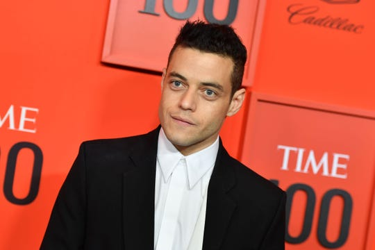 Rami Malek, seen here at the Time 100 Gala, is following up a best actor Oscar win by playing James Bond's newest villain.