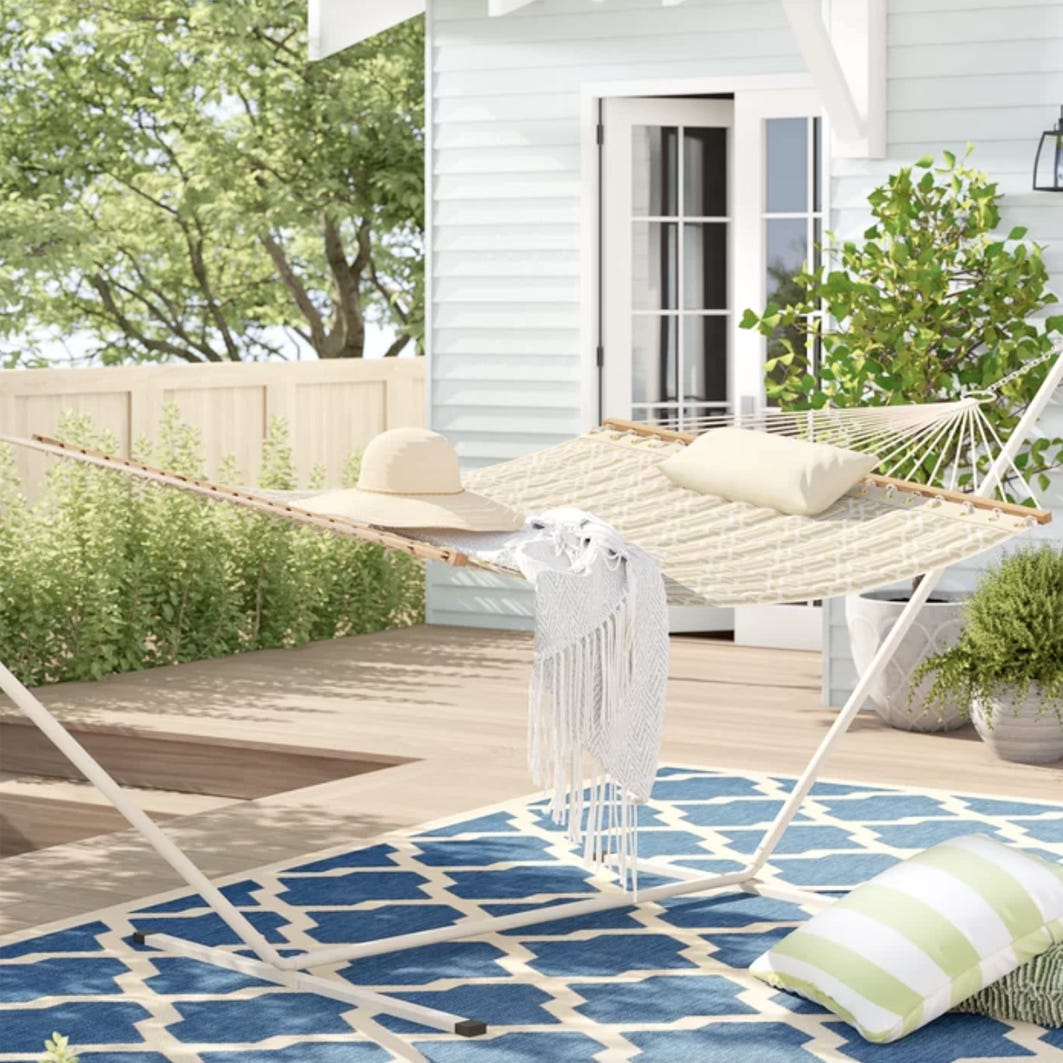 Save on outdoor furniture and tech products with today's deals and sales.