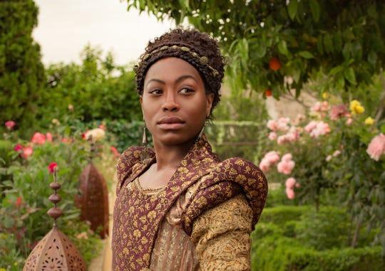 "Stephanie Levi-John as Lina on ""The Spanish Princess."""