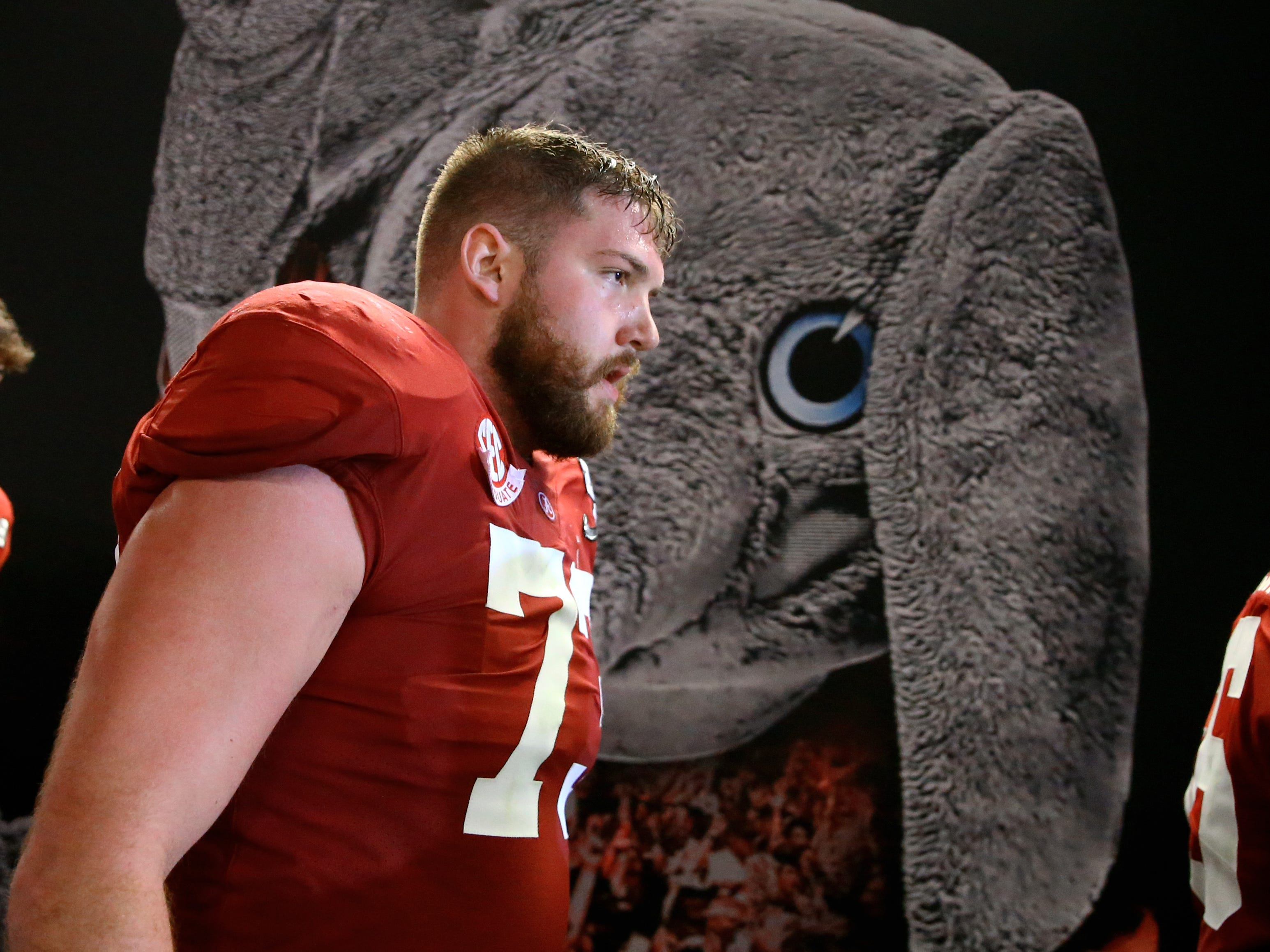 PROJECTED TRADE 17. Packers (from Browns via Giants) — Jonah Williams, OT, Alabama