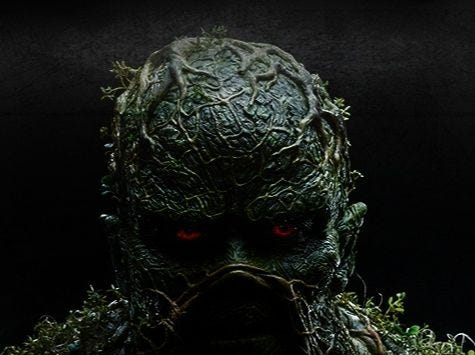 Freaky 'Swamp Thing' rises in first extended teaser trailer, but show's future is murky