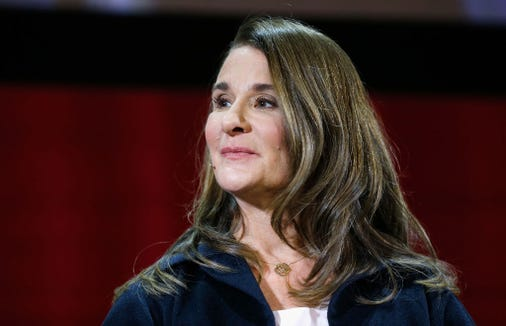 Melinda Gates said it's time women start being recognized for the unpaid work they do.