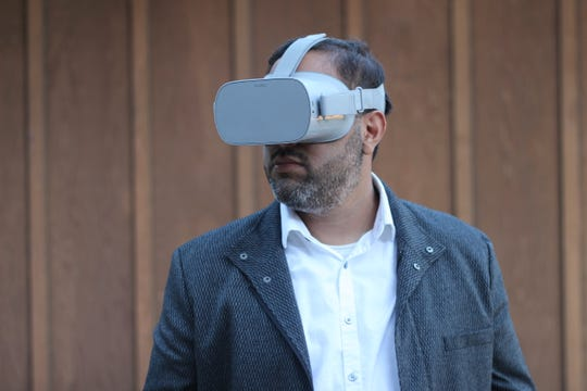 Are virtual reality churches the wave of the future? Pastor D.J. Soto, (pictured) quit his job to start one.