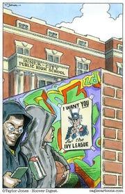 Inner city college recruitment
