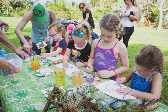 Kids experience W.O.N.D.E.R in garden sessions at The Naples Botanical Garden.