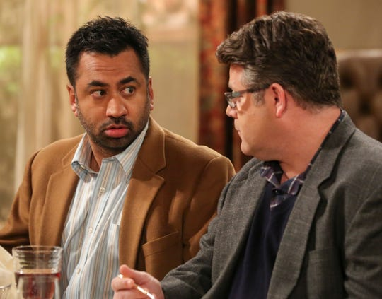 "Sam and Kumar go to Pasadena: ""Harold and Kumar"" star Kal Penn, left, and ""Lord of the Rings"" cast member Sean Astin pay a visit to ""Big Bang"" on May 2."
