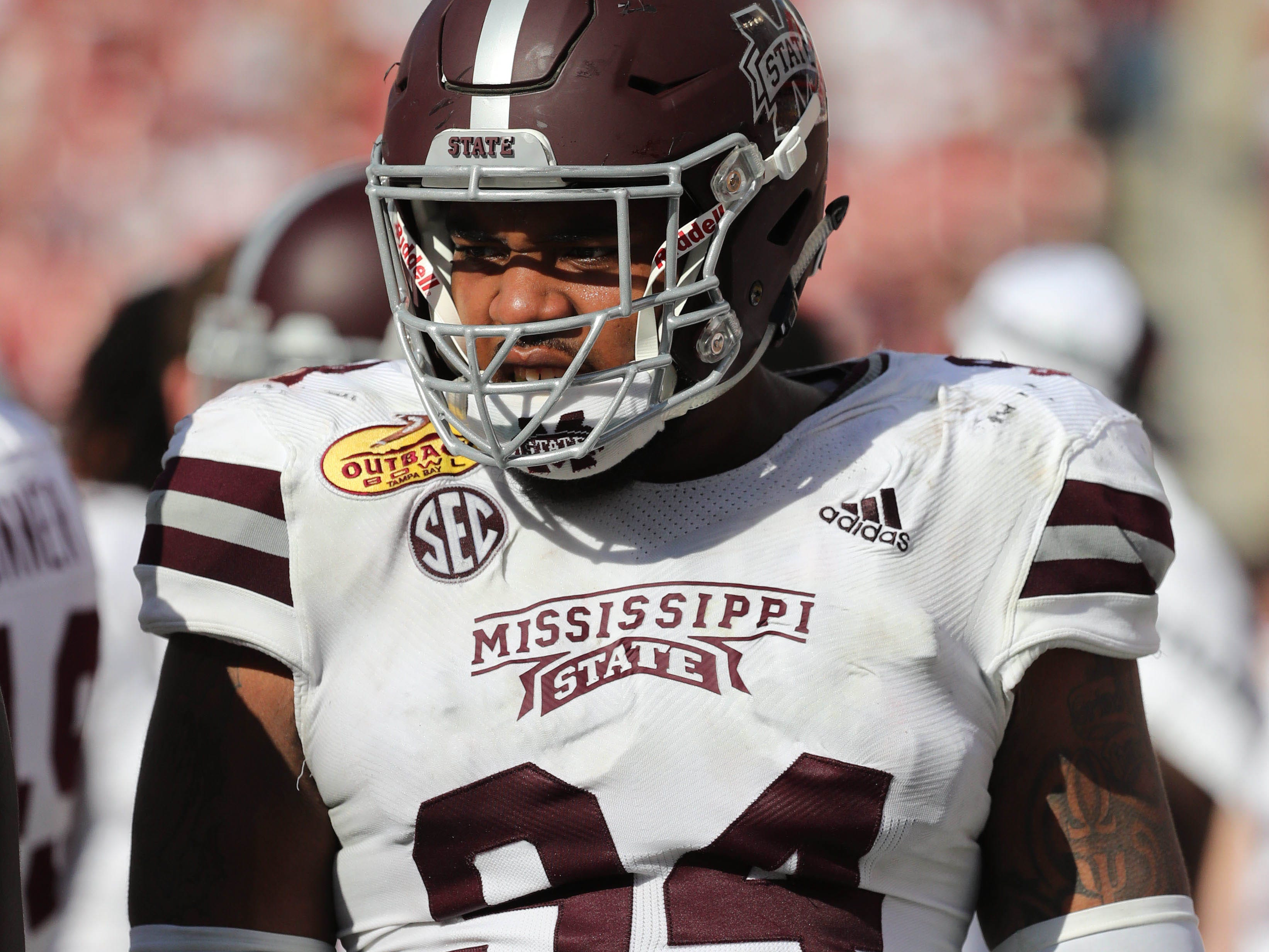24. Raiders (from Bears) — Jeffery Simmons, DT, Mississippi State