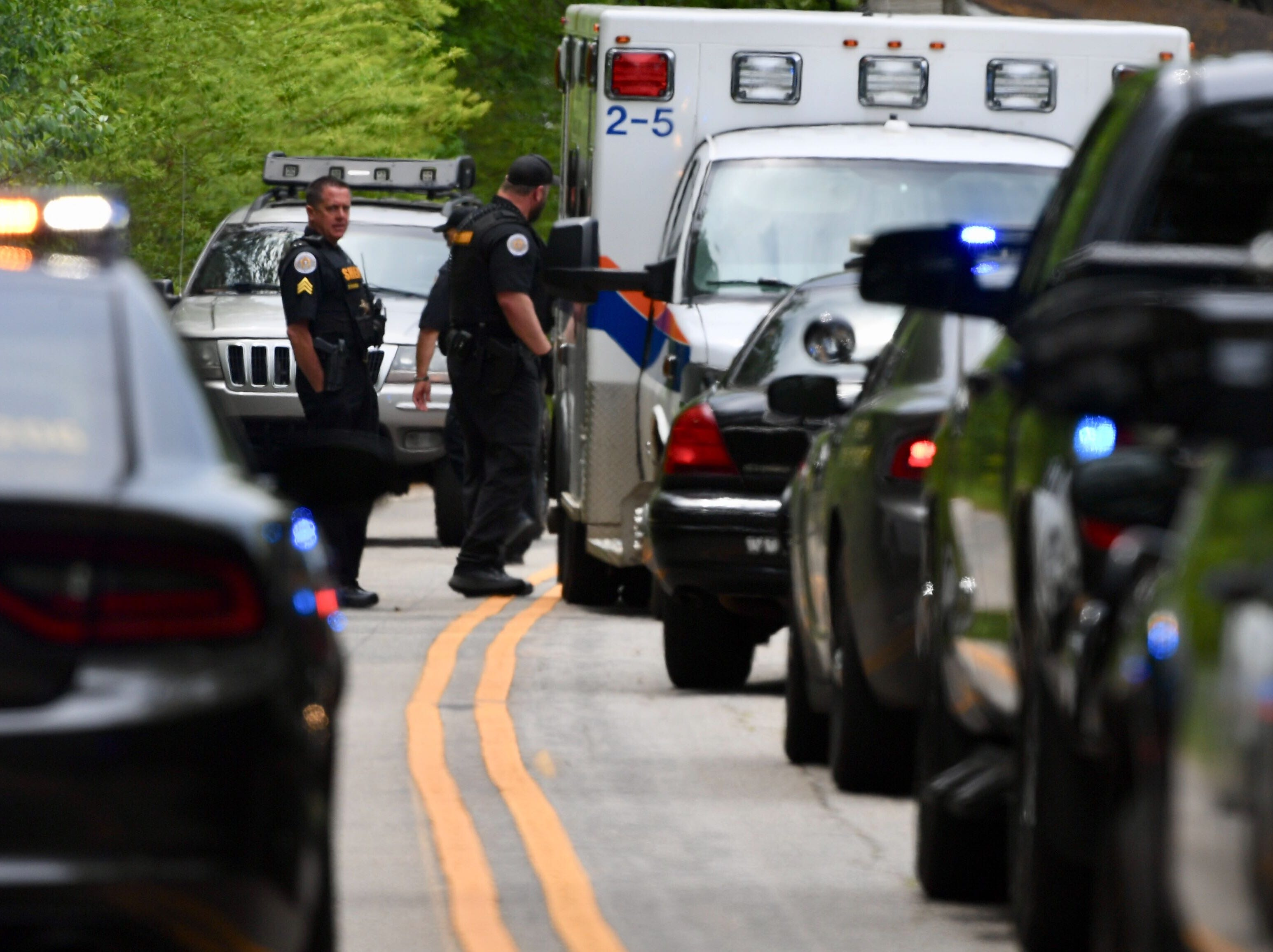 Anderson County Sheriff's Office deputies say one person was shot after an apparent carjacking attempt in Belton on Thursday, April 25, 2019.