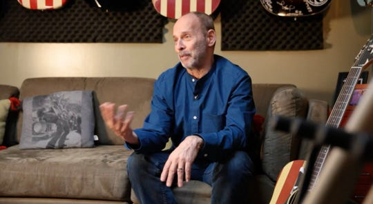 "Wayne Kramer of the MC5, pictured in a scene from ""Boy Howdy! The Story of Creem Magazine."""